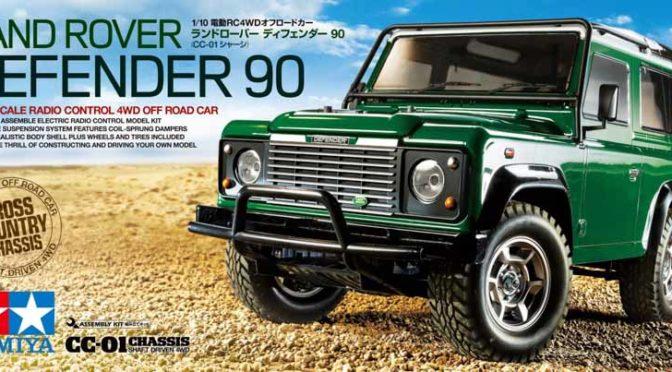 Tamiya 58657 Land Rover Defender 90 (CC-01) – Erstes Bild