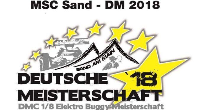 Deutsche Meisterschaft ORE8 2018 beim MSC-Sand