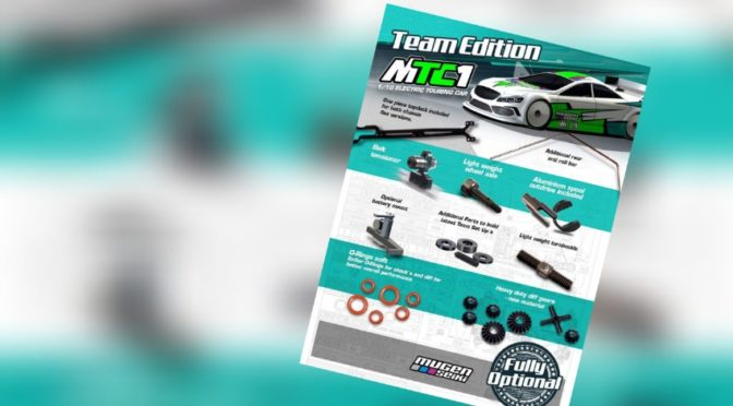 Mugen Seiki Europe – Team Edition Kit des MTC1