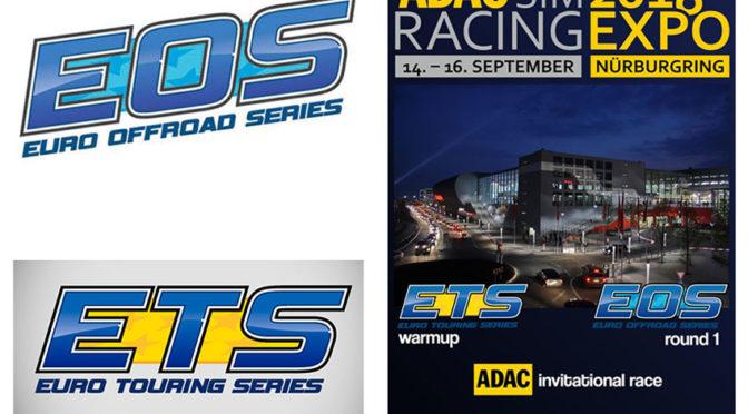 Das EOS / ETS / RROC Mega-Event auf der ADAC SimRacing Expo