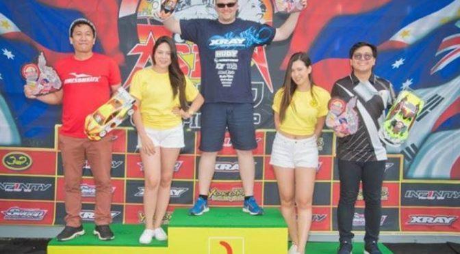Sieg für Jan Ratheisky beim AOC R3 auf den Phillippinen