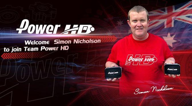 Simon Nicholson im Team Power HD