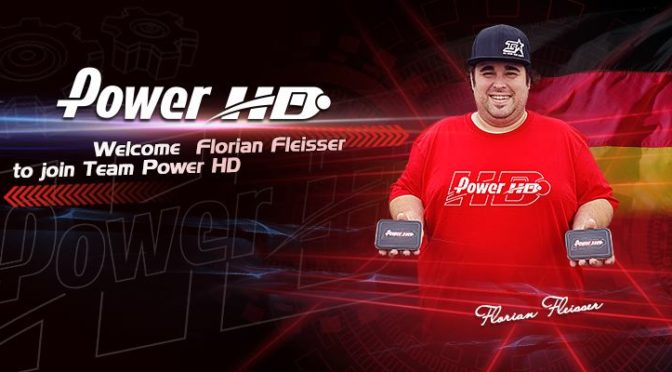 Florian Fleißer im Power HD Factory Team