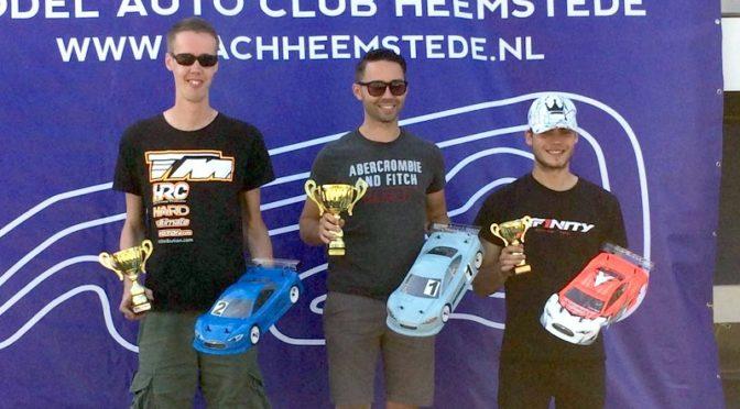 Rob Janssen auf Platz 2 bei den Dutch Nationals Rd4 in Heemstede