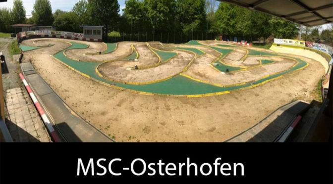 2.Lauf der Deutschen Meisterschaft OR8 2018 beim MSC-Osterhofen