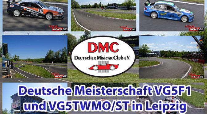 Ausblick auf die Deutsche Meisterschaft VG5F1 und VG5TWMO/ST in Leipzig