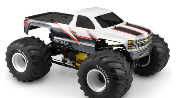 JConcepts – 2014 Chevy 1500 MT Body