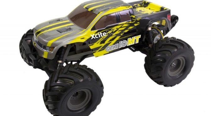 XciteRC one10 Wheelie Monster Truck 2WD RTR Modellauto M1:10 gelb