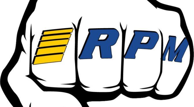 "RPM ""Fist"" Logo Decal"