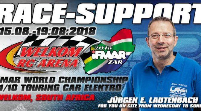LRP Race-Support bei der IFMAR-WM in Südafrika