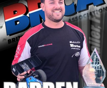 Darren Bloomfield ist BRCA 1/8 National Champion!