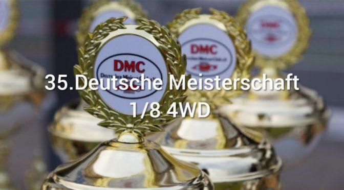 Die 35.Deutsche Meisterschaft 1/8 4WD beim MSC-Osterhofen