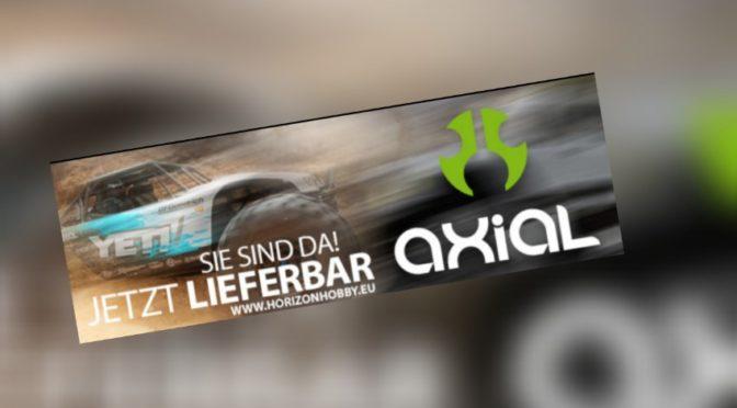 Axial-Fahrzeuge bei Horizonhobby lieferbar