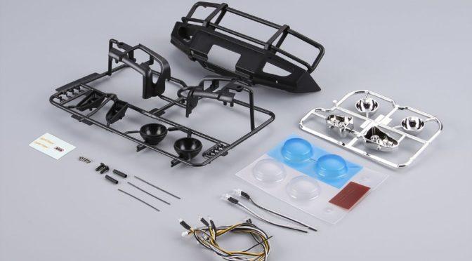 Killerbody Rammschutz mit LED Scheinwerfern Alu für TRX-4