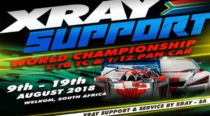 Xray Support auf der IFMAR-WM in Südafrika