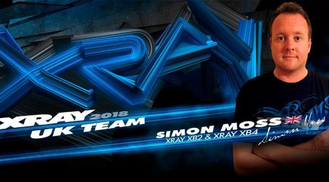 Simon Moss wechselt zu XRAY UK Team