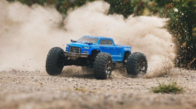 BRUSHLESS 1/10TH 4WD MONSTER TRUCK