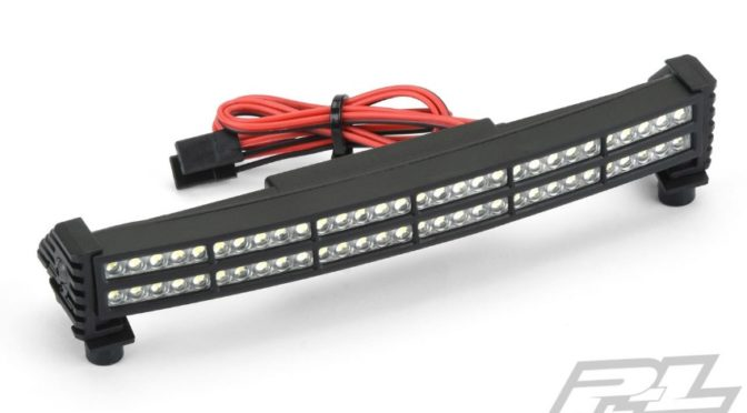 Double Row 6″ Super-Bright LED Light Bar Kit 6V-12V (Curved)