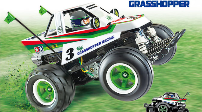 Tamiya 58662 Comical Grasshopper WR-02CB