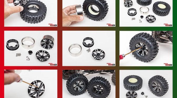 Reifen auf Beadlock-Felgen von FASTRAX montieren
