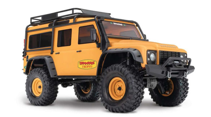 TRAXXAS TRX-4 Land Rover sandglow Limited Trophy-Edition