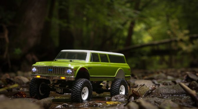 ECX® VTR 1972 CHEVY SUBURBAN  ASCENDER 2.0 1/10 4WD RTR