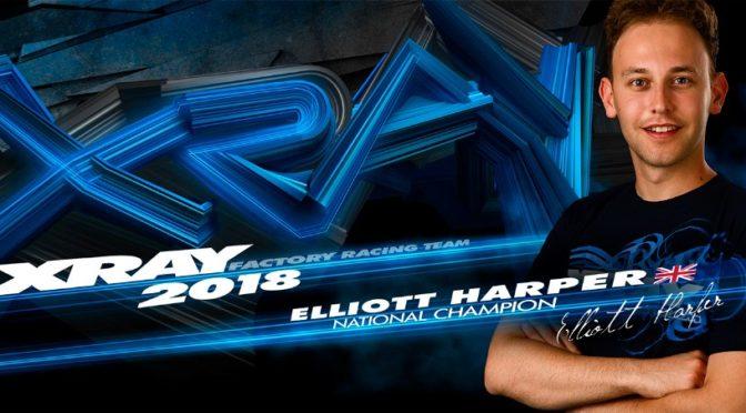 Elliott Harper wechselt zum XRAY Factory Team