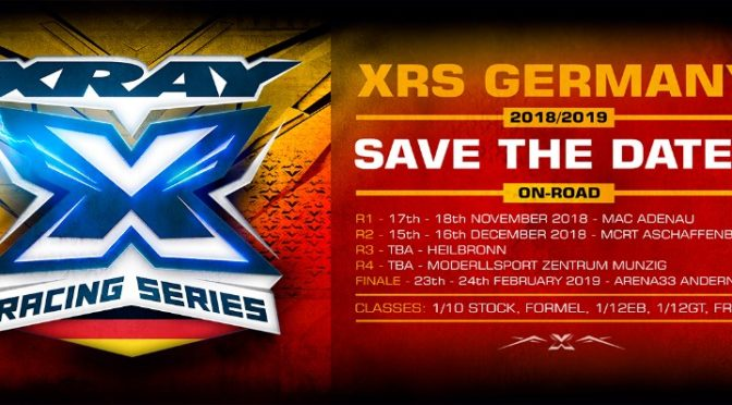XRS Germany 2018/2019 Onroad – Save the dates