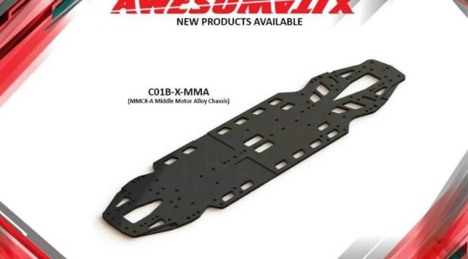 Awesomatix C01B-X-MMA Alu-Chassis