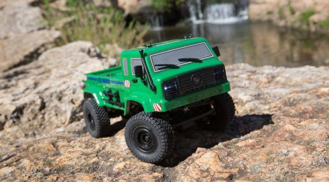 ECX® BARAGE 1/24 4WD RTR, Green