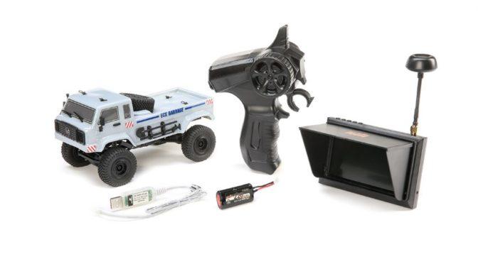 ECX® Barage FPV 1/24 4WD RTR grau