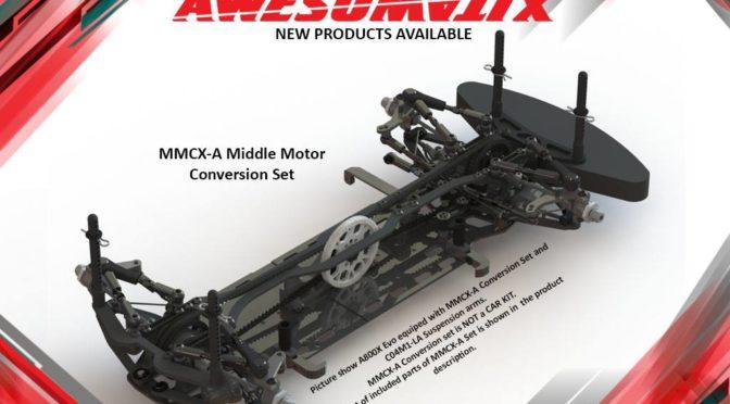MMCX-A Mittelmotor Set von Awesomatix