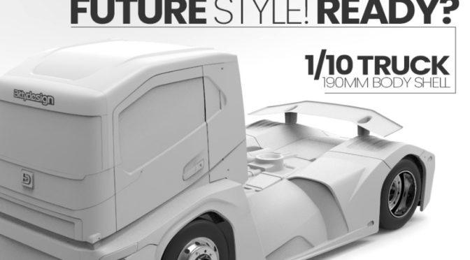 1/10 Truck 190mm Karosserie by Bittydesign