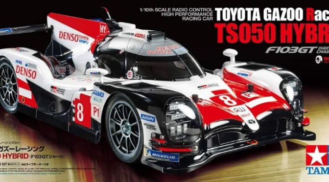 1/10 R/C TOYOTA GAZOO Racing TS050 Hybrid (F103GT)