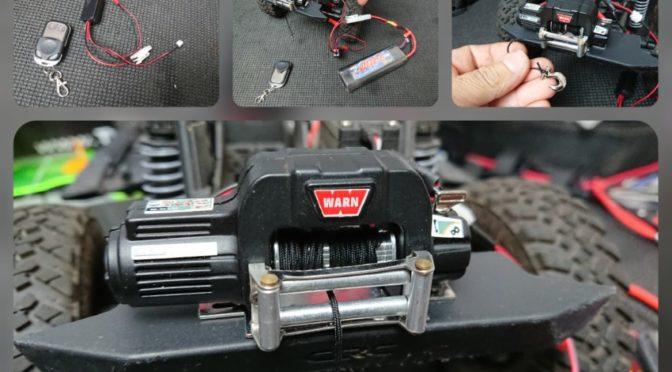 Seilwinden im RC-Car Bereich – FASTRAX im Test