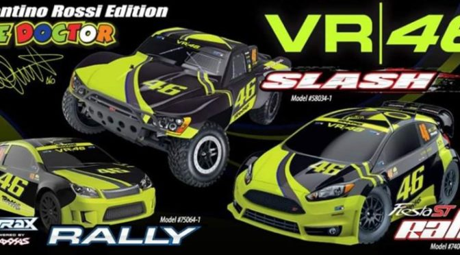 Traxxas VR46 Valentino Rossi Edition by Hoeco!
