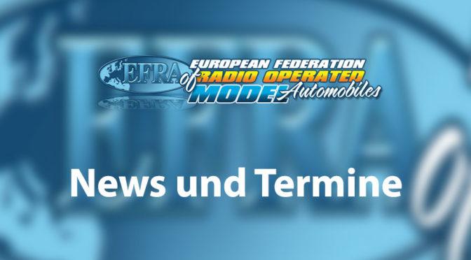 EFRA-News – Handbuch und Homologationlisten