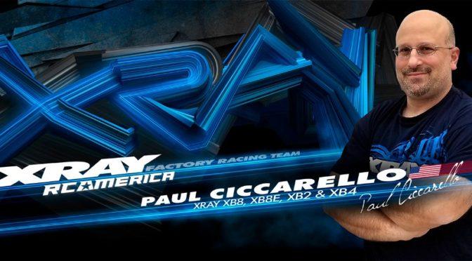 Paul Ciccarello wechselt zu XRAY