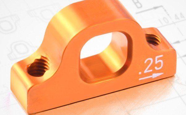 Xray T4 Unterer Aufhängungsträger – 0.25 Exzentrisch