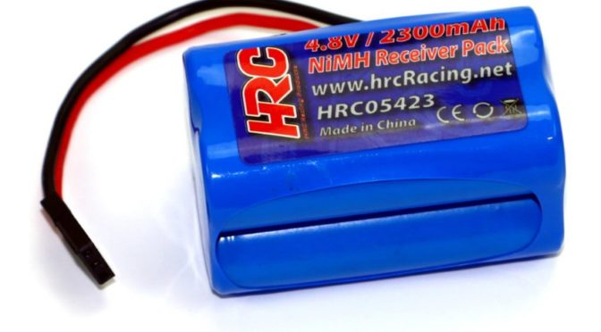 HRC Racing 2300mAh NiMH Empfängerakkus