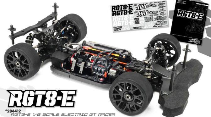 HB RGT8-E – Elektro 1/8 GT