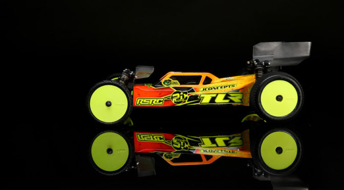 TLR 22 5.0 AC RACE KIT: 1/10 2WD BUGGY