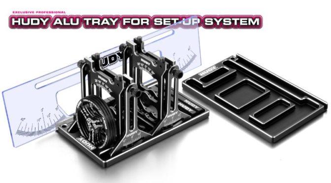 HUDY Alu-Tablett für das Setup-System