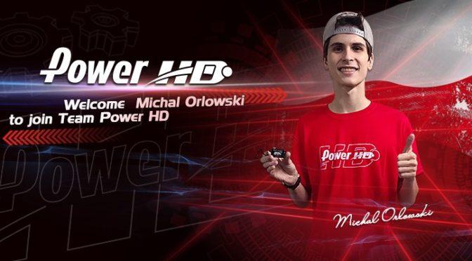 Michal Orlowski jetzt im Team Power HD