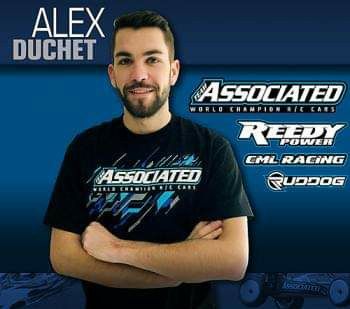 Alex Duchet im Team Associated