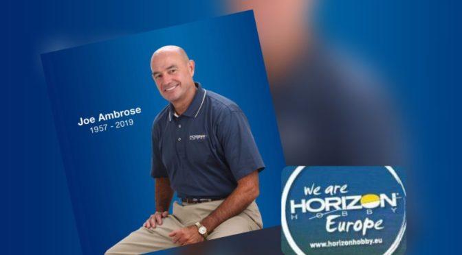 Traurige Mitteilung von Horizon Hobby – Geschäftsführer Joseph Ambrose verstorben