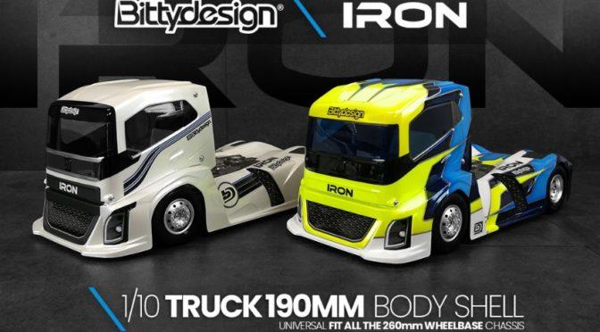 Bittydesign IRON 1/10 Truck Karosserie