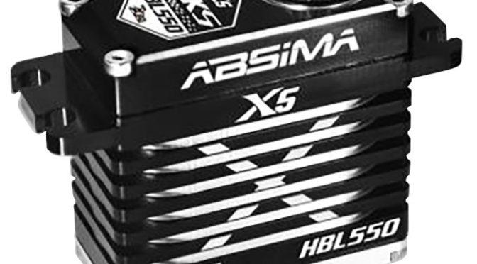 Absima MKS X5 HBL550 und HBL550L Servos