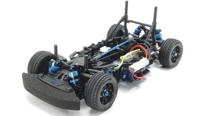 Erstes Bild des Tamiya M-07R Chassis Kit