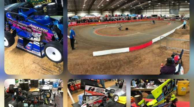 Dirt Oval beim RC Chili Bowl in der Mustang Arena